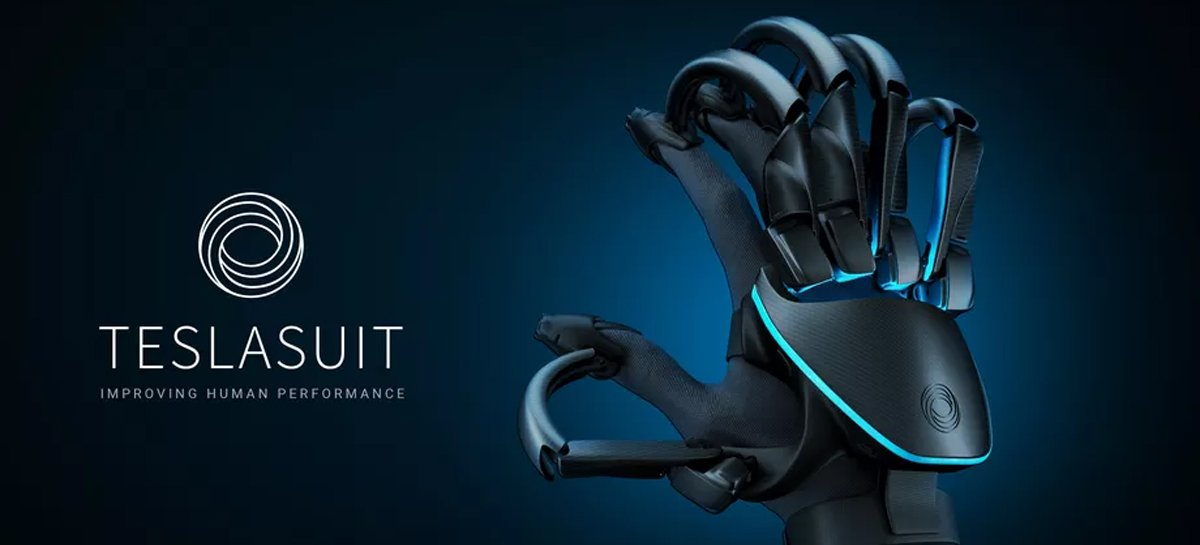 Teslasuit Glove permite que os usuários sintam as texturas de objetos virtuais