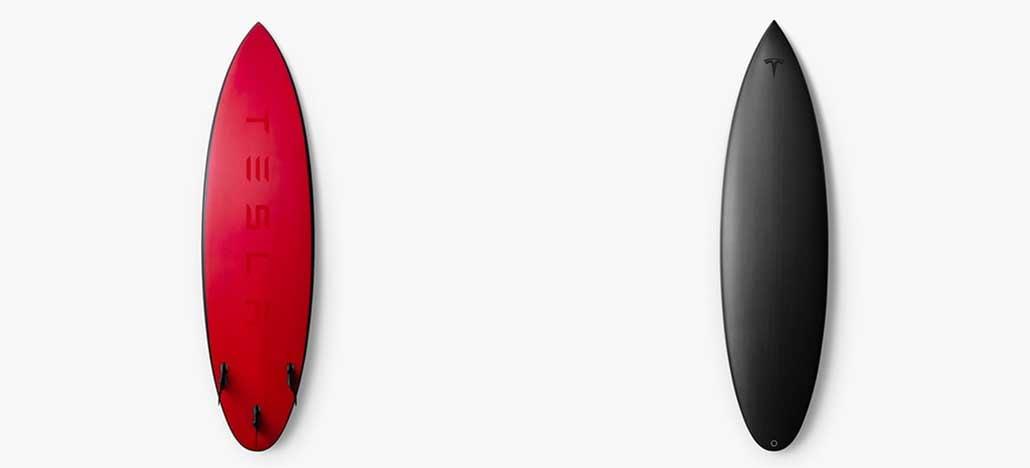 Tesla lança edição limitada de prancha de surf por US$ 1.500