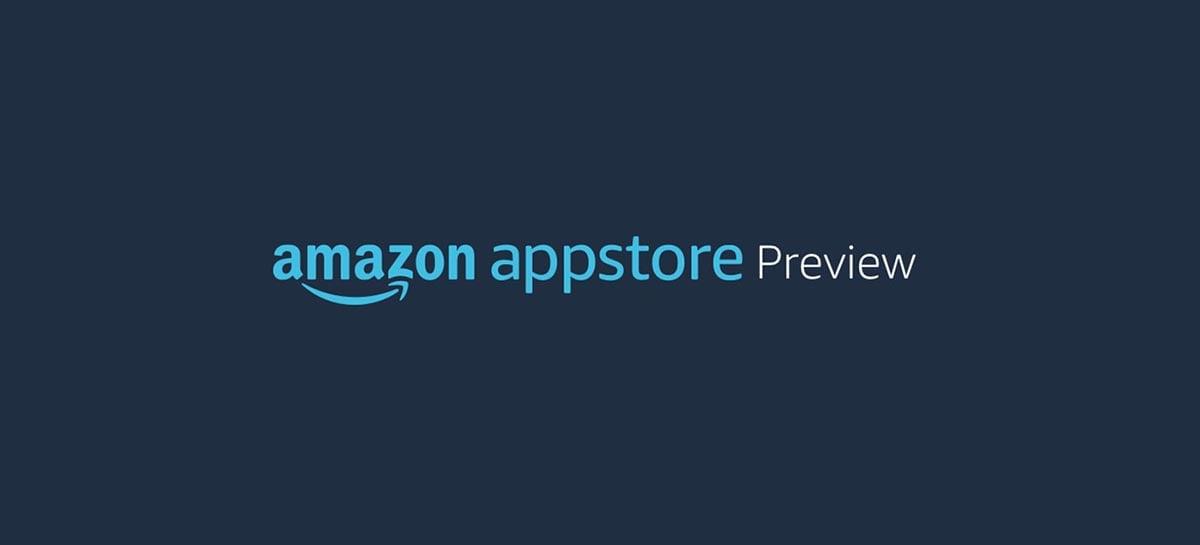Appstore da Amazon é listado oficialmente na Microsoft Store