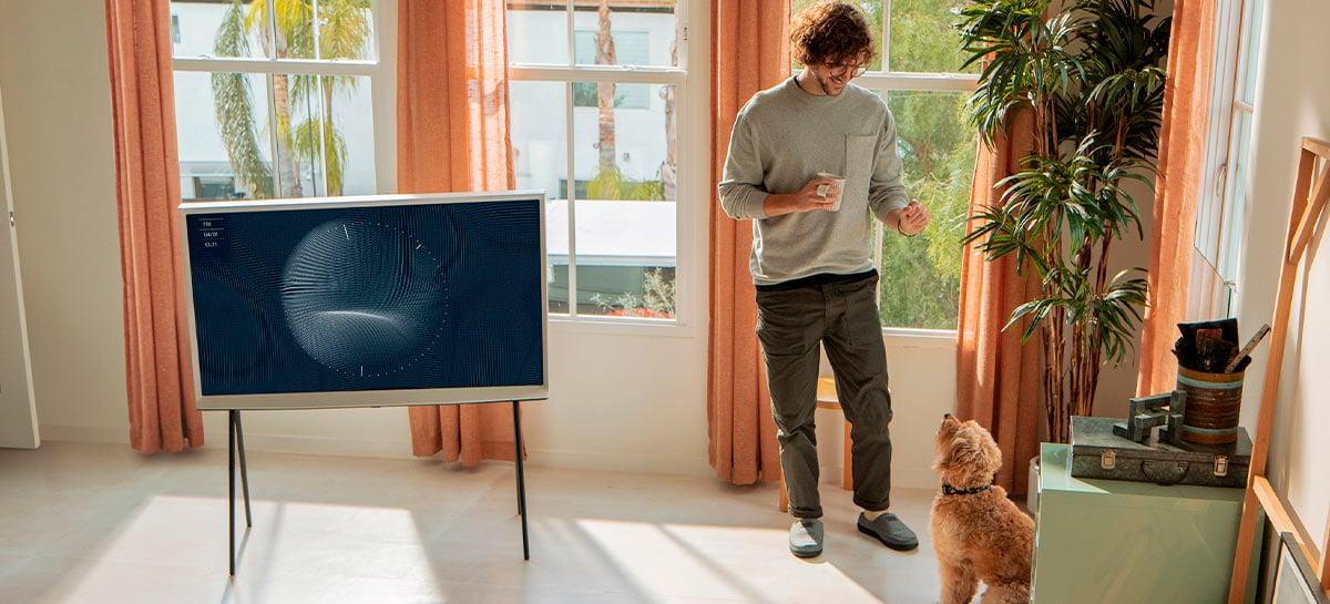 Samsung lança no Brasil sua TV The Serif da linha Lifestyle