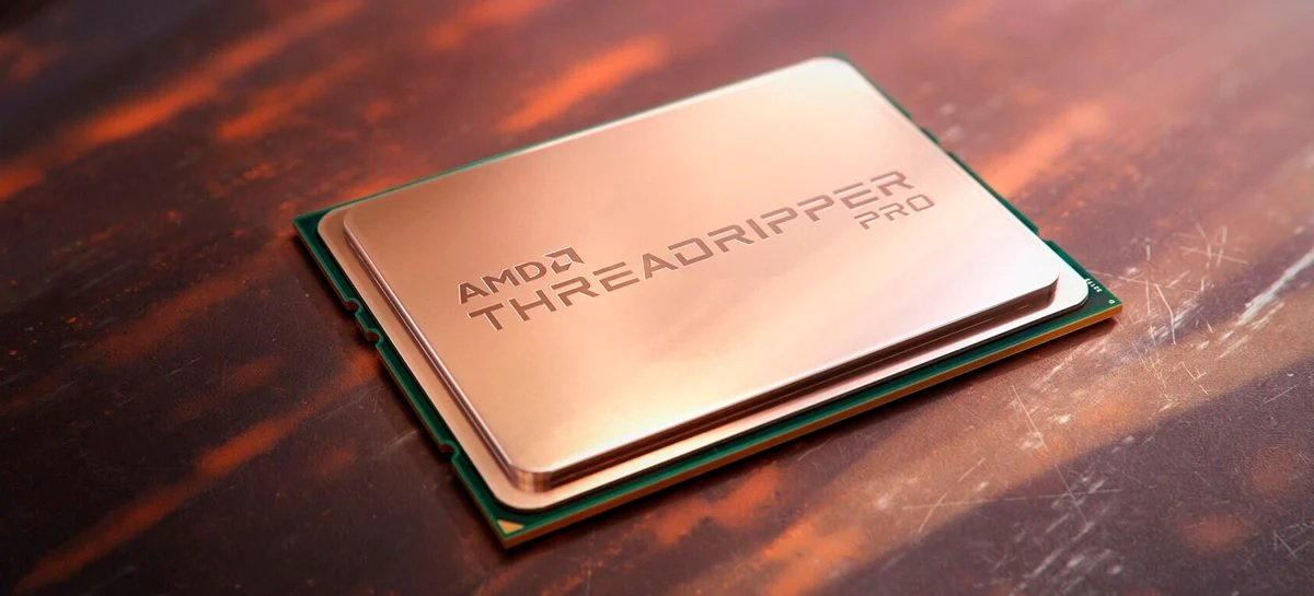 AMD revela CPUs Ryzen Threadripper Pro de até 64 núcleos para workstations