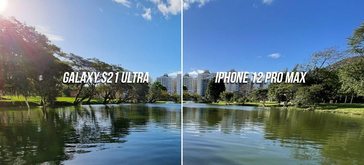 Comparativo de fotos: iPhone 12 Pro Max, Galaxy S21 Ultra, OnePlus 9, Mi 11 Ultra e POCO F3