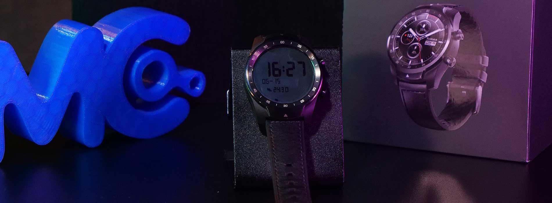 TicWatch Pro 2020 - o relógio com DUAS TELAS e sistema da Google