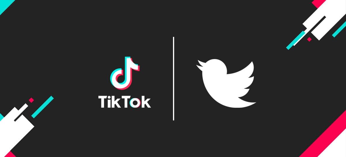 Twitter estaria entrando na disputa para adquirir o TikTok e unir as redes sociais