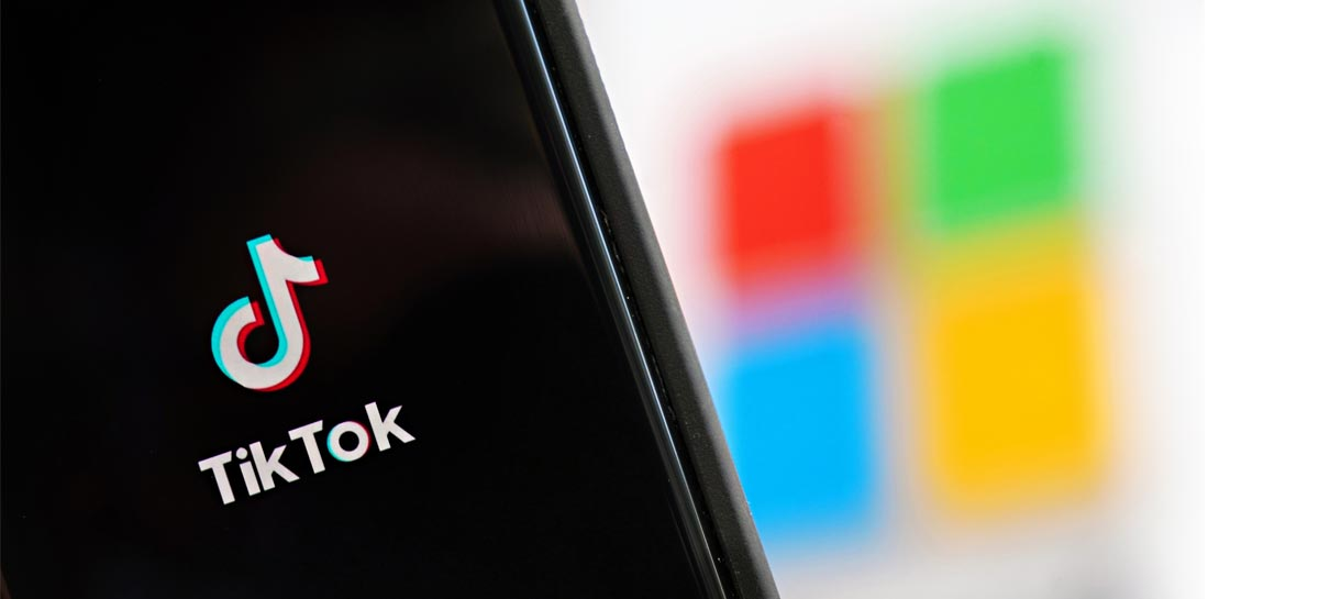 Microsoft pretende assumir controle global do TikTok, indica rumor