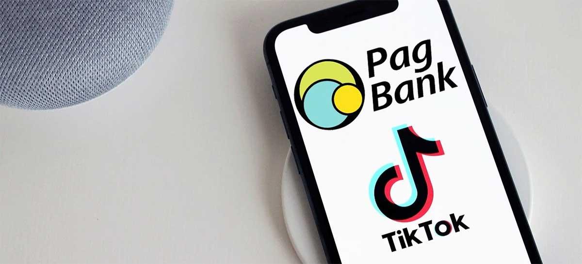 Usuários do TikTok no Brasil vão receber valores direto na conta PagBank