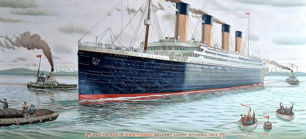 Máquina de telegramas do Titanic será resgatada do fundo do oceano