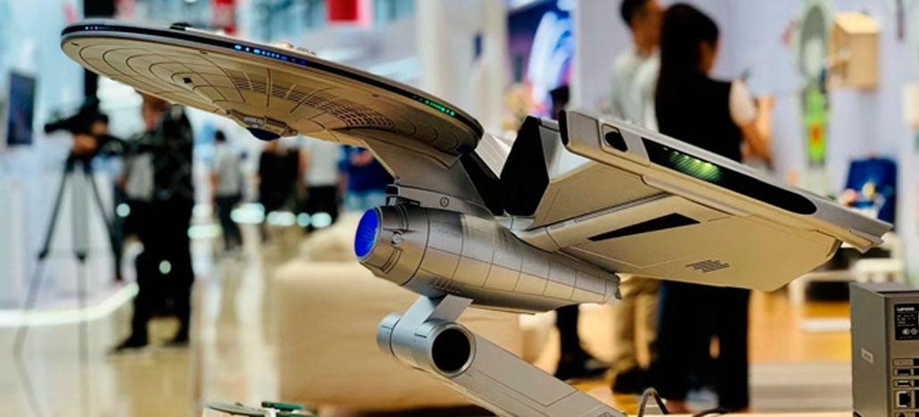 A Lenovo está lançando um computador de última geração inspirado em Star Trek