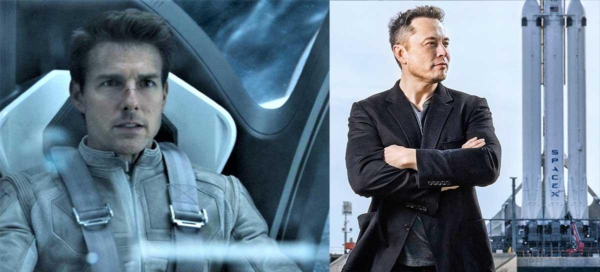 Tom Cruise, NASA e SpaceX irão gravar o primeiro filme no ESPAÇO