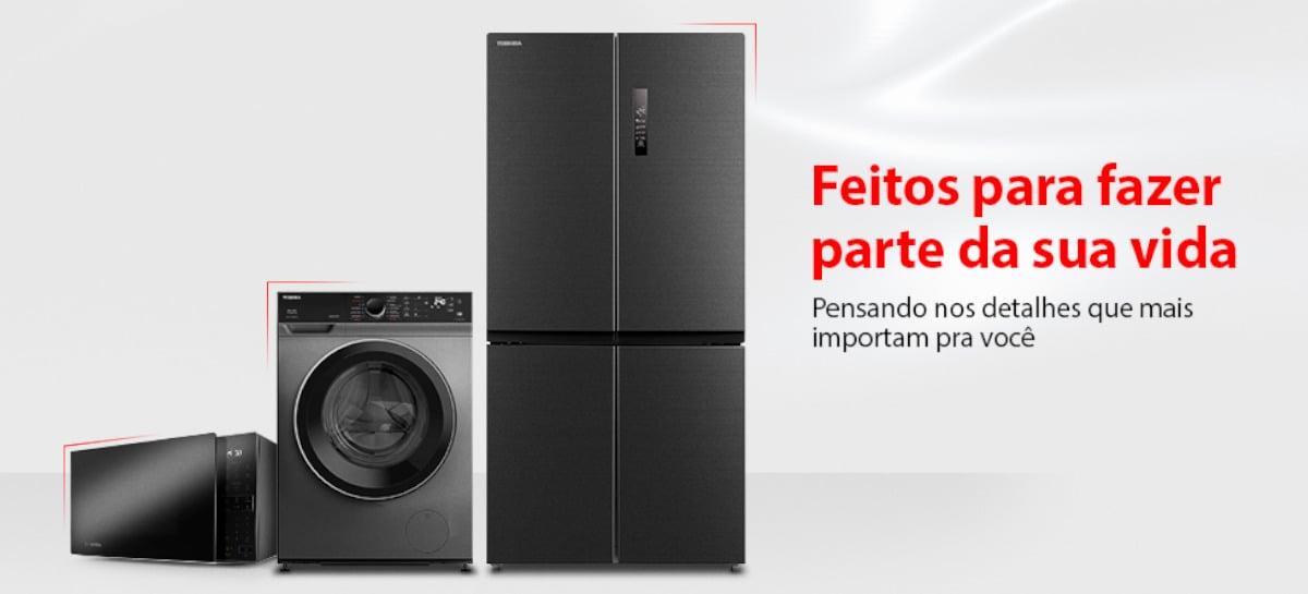 Toshiba lança linha de eletrodomésticos Lifestyle para o Brasil