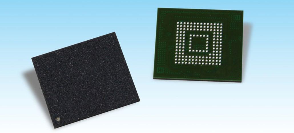 Toshiba apresenta primeira memória Flash UFS 3.0 do mercado para smartphones