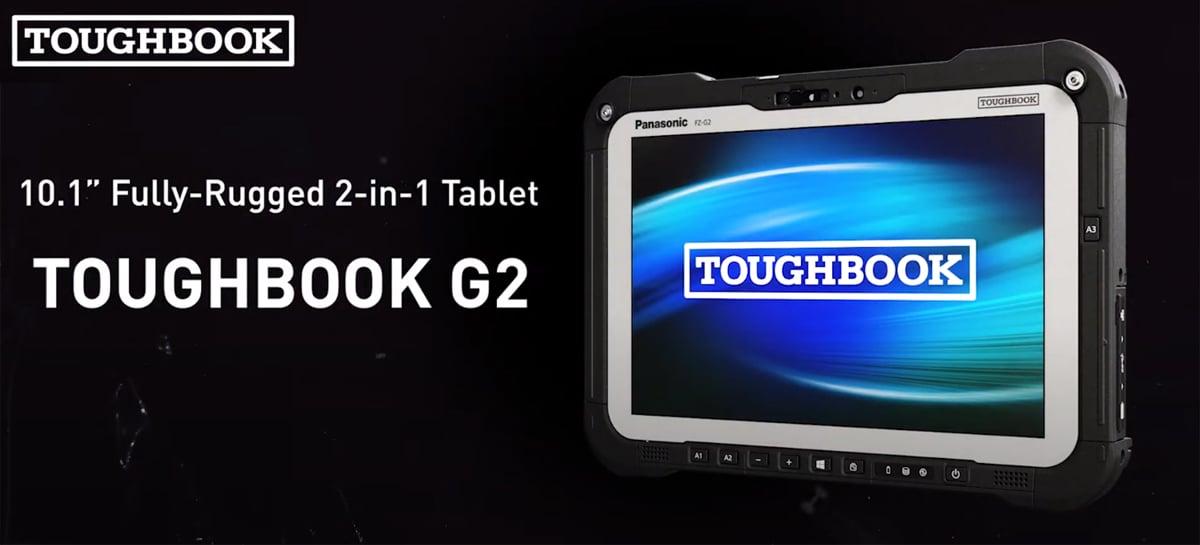 Panasonic TOUGHBOOK G2 é um tablet modular com Windows 10 e corpo reforçado