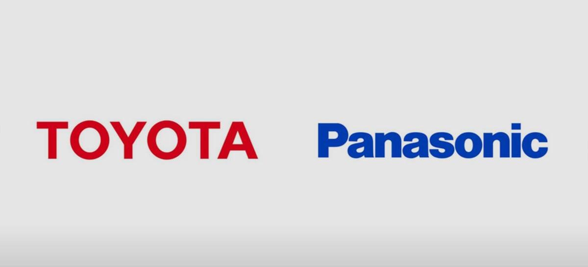 Panasonic e Toyota desenvolverão baterias para veículos elétricos