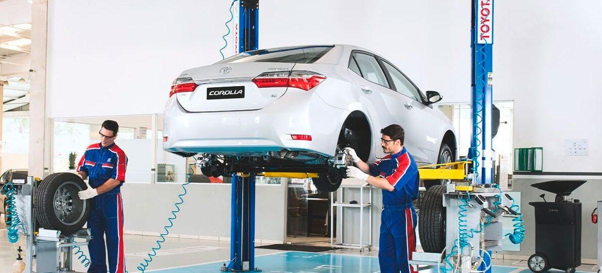 Toyota paralisa duas fábricas no Brasil por falta de peças