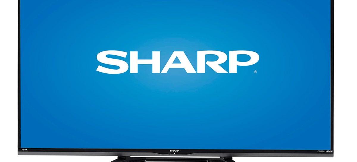 Vaza imagem da suposta TV de 120'' da Sharp: resolução 8K e até 120Hz de frequência