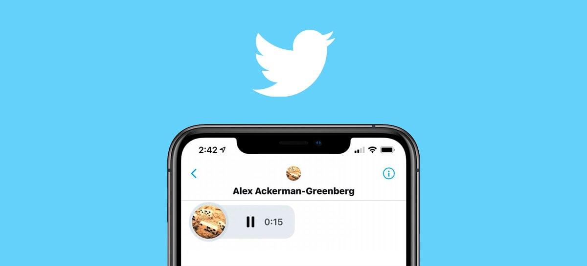 Twitter inicia testes de mensagens diretas por voz para diversos usuários no Brasil