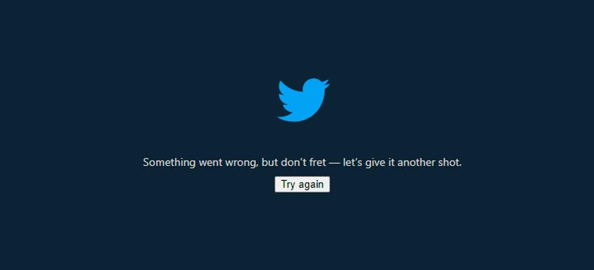 Twitter está fora do ar para os usuários de desktop e do app Lite