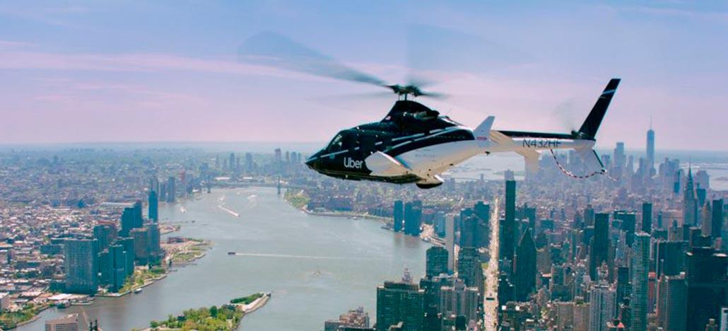 Uber Copter: de helicóptero ao centro de Nova Iorque por U$200
