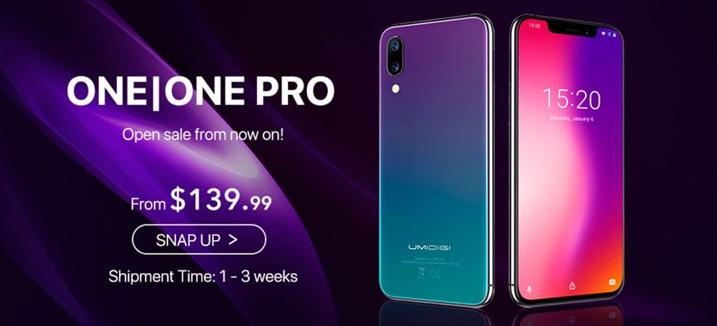 Vendas do Umidigi One começam com promoção por R$ 565