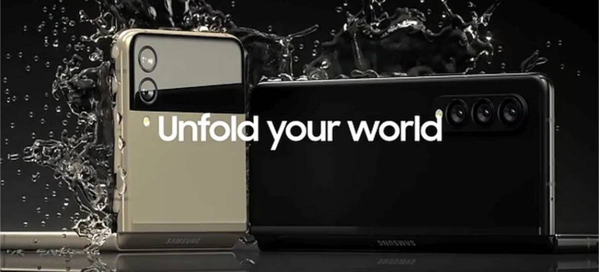 Evento Ao Vivo: Samsung Unpacked com revelação do Galaxy Z Fold 3, Galaxy Watch 4 e Galaxy Buds 2