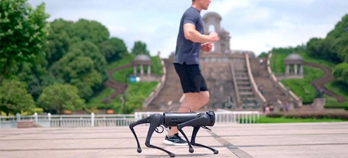 """Unitree mostra seu robô Go1, um """"mini-Spot"""" que lhe acompanha em seus passeios"""