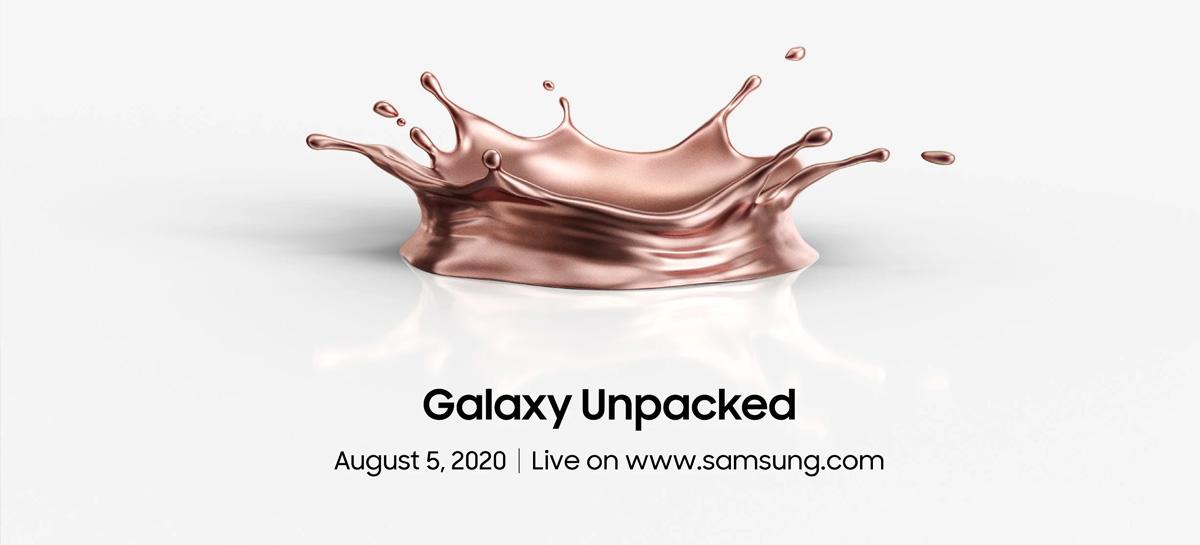 Confirmado: Samsung vai anunciar cinco novos produtos no Unpacked 2020