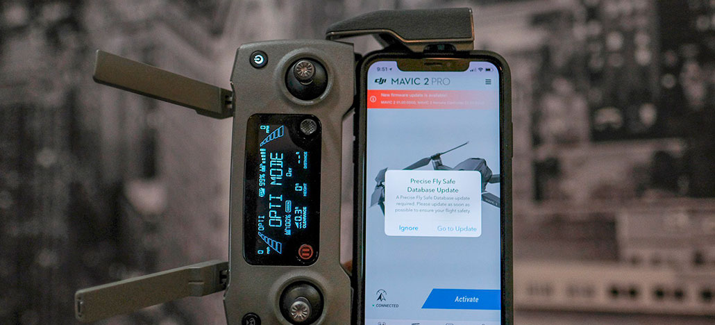DJI atualiza software dos drones Mavic 2 Pro e Zoom com novos recursos