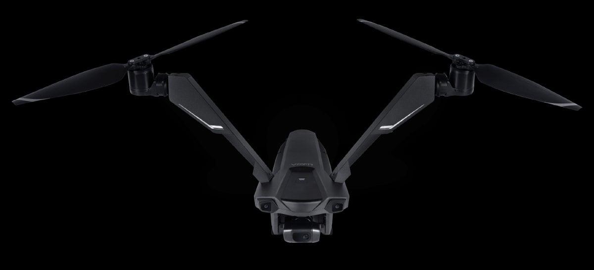 Drone V-Coptr Falcon tem apenas duas hélices e 50 minutos de autonomia