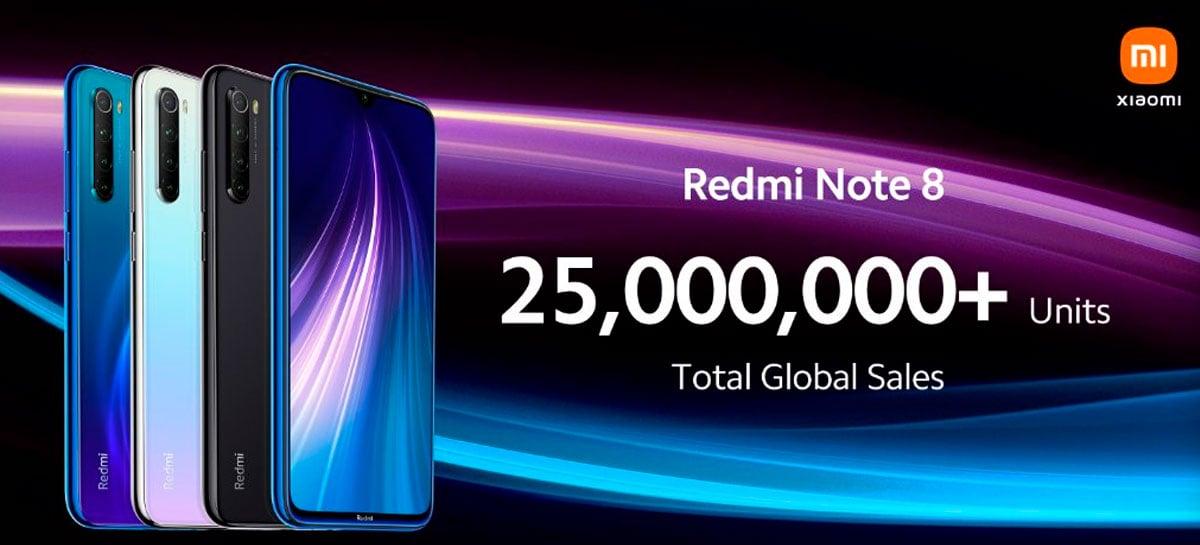 Xiaomi anuncia versão de 2021 do Redmi Note 8 para comemorar sucesso de vendas