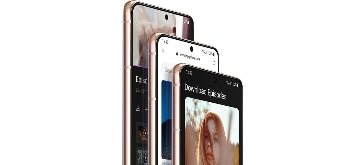 Versão beta da One UI 4.0 chega ao Samsung Galaxy S21 em setembro