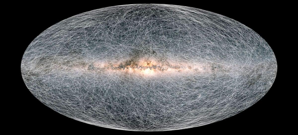 Astrônomos conseguem desenvolver o mapa 3D mais detalhado da Via Láctea na história