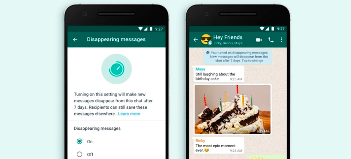 WhatsApp Beta para Android está testando mídias autodestrutivas