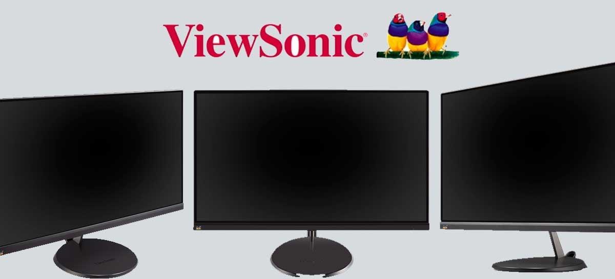ViewSonic anuncia dois monitores para escritórios e residências