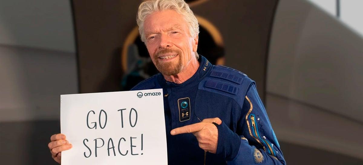 Você pode ir para o espaço de graça em uma nave da Virgin Galactic
