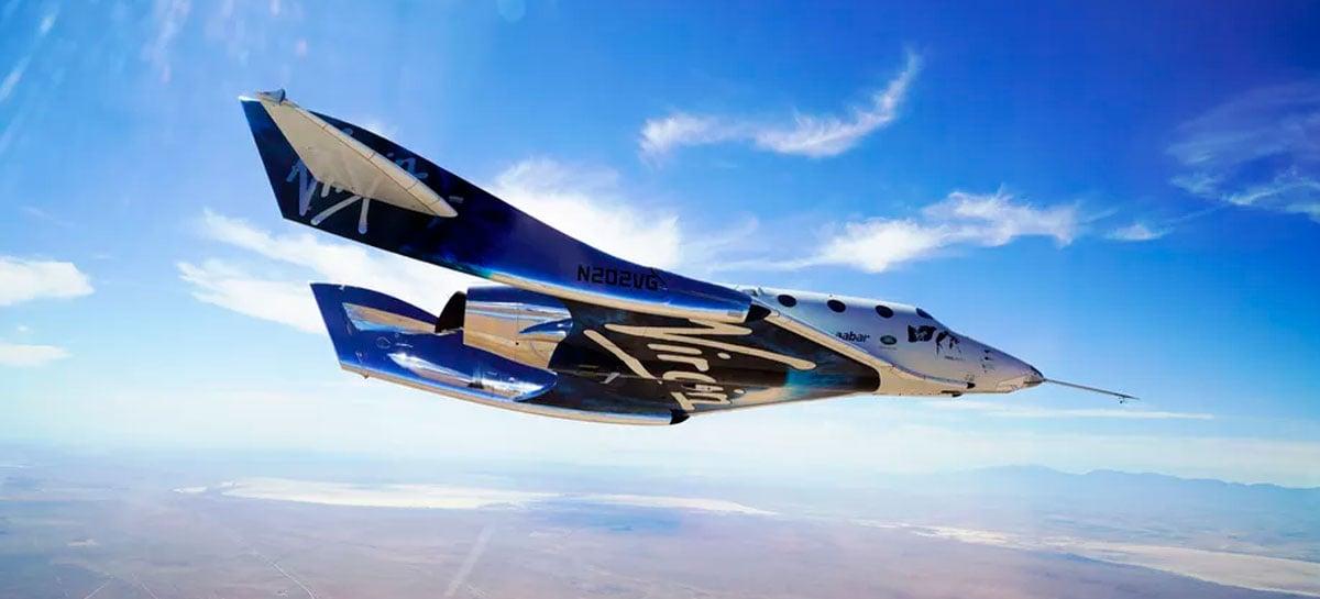 Primeiro voo espacial motorizado da Virgin Galactic da nova base foi abortado