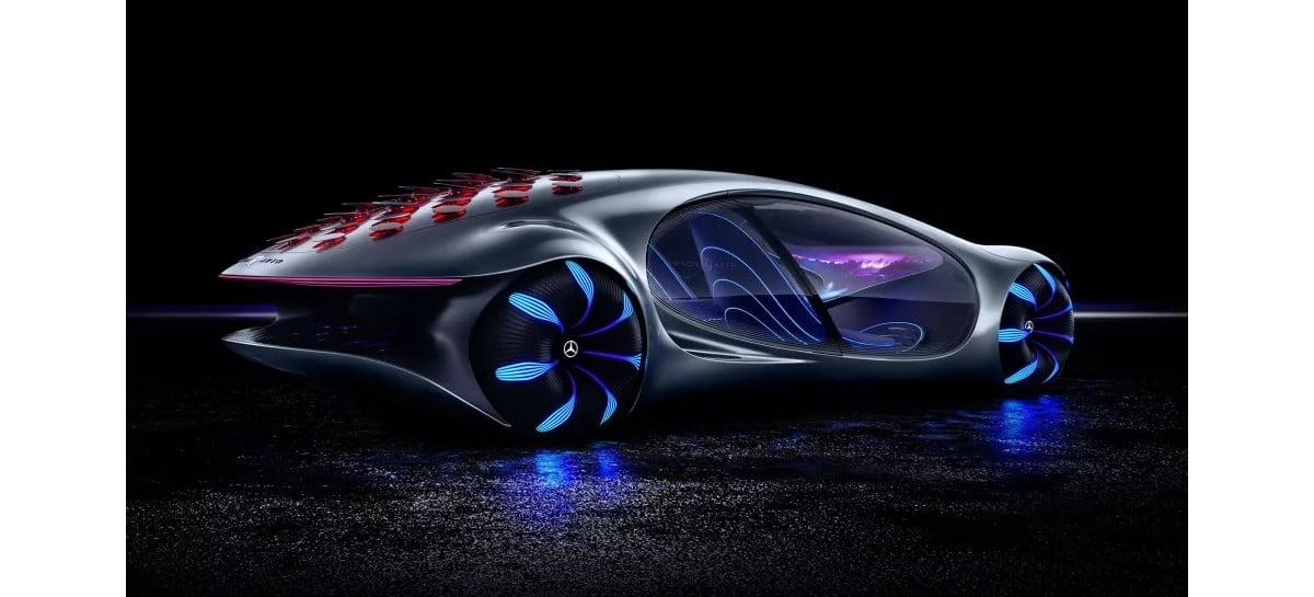 Mercedes-Benz Vision AVTR: carro do futuro poderá ser dirigido com o poder da mente