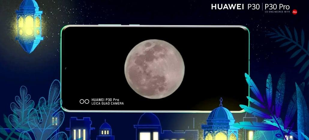 Patente da Huawei revela método do P30 Pro para tirar fotos nítidas da Lua