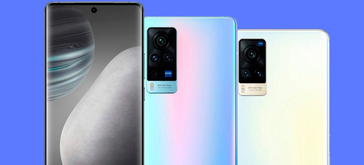 Vivo mostra o X60 e X60 Pro em novas imagens oficiais