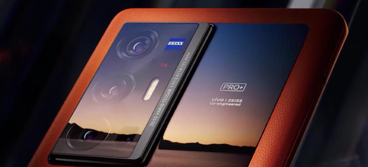 Smartphones Vivo X70 chegam em setembro e modelo Pro+ terá câmera com lentes Zeiss T*