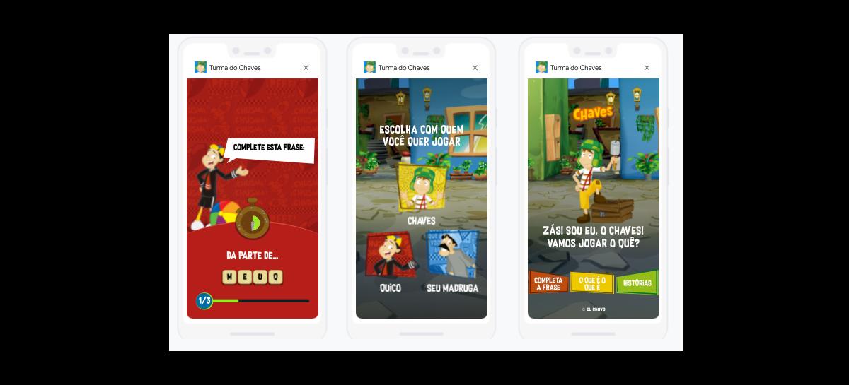 Brinque com a Turma do Chaves em novo jogo de voz do Google Assistente