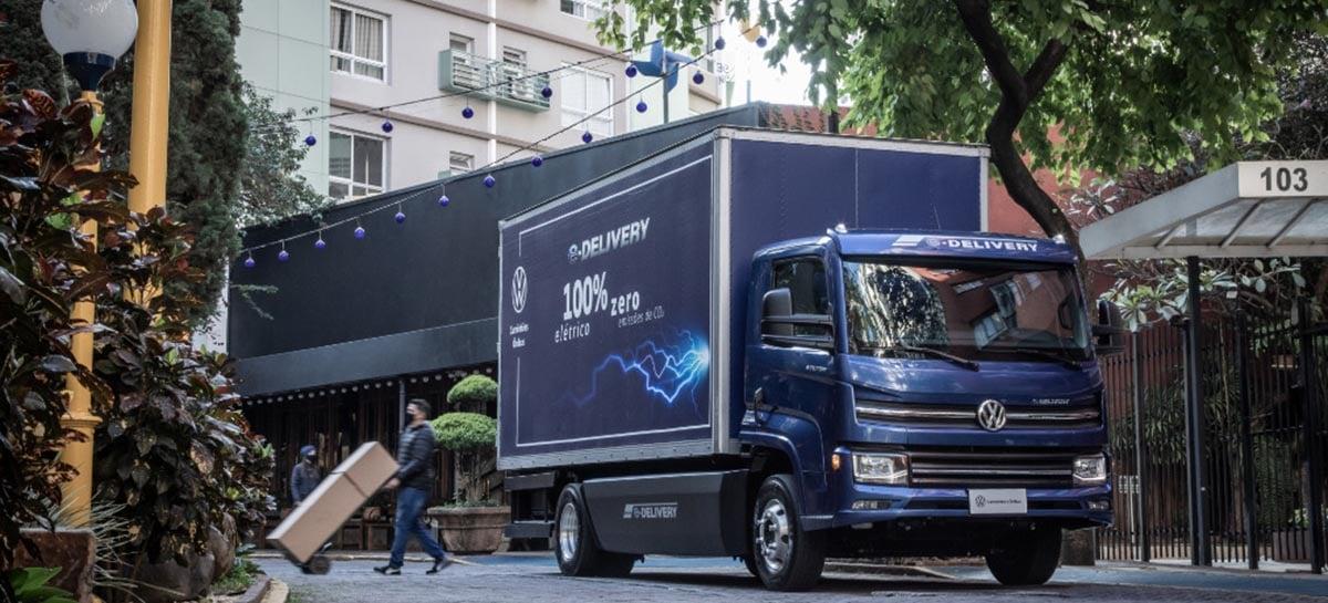 Volkswagen lança o e-Delivery, o caminhão elétrico 100% brasileiro