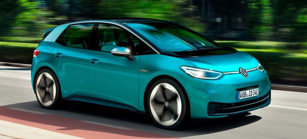 Volkswagen anuncia ID.3, novo carro elétrico com capacidade de autonomia de até 550km