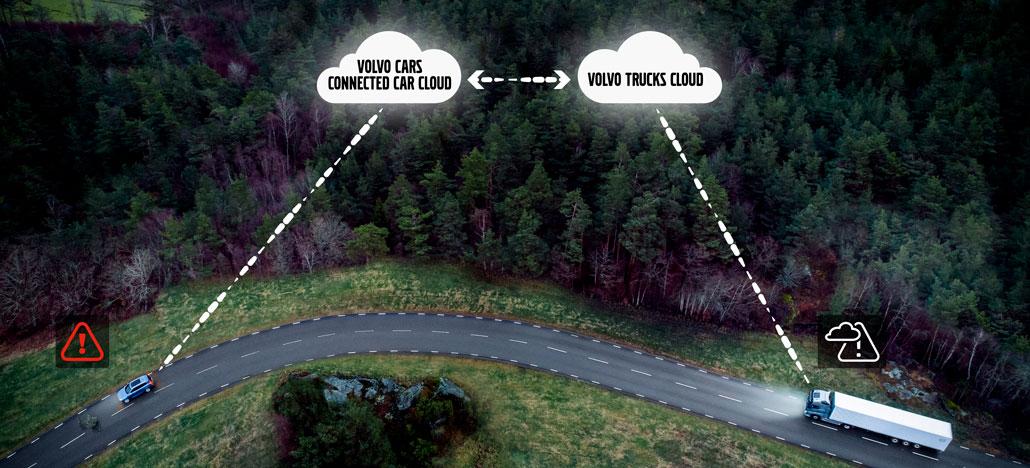 Volvo Cars e Volvo Trucks vão compartilhar dados entre seus veículos