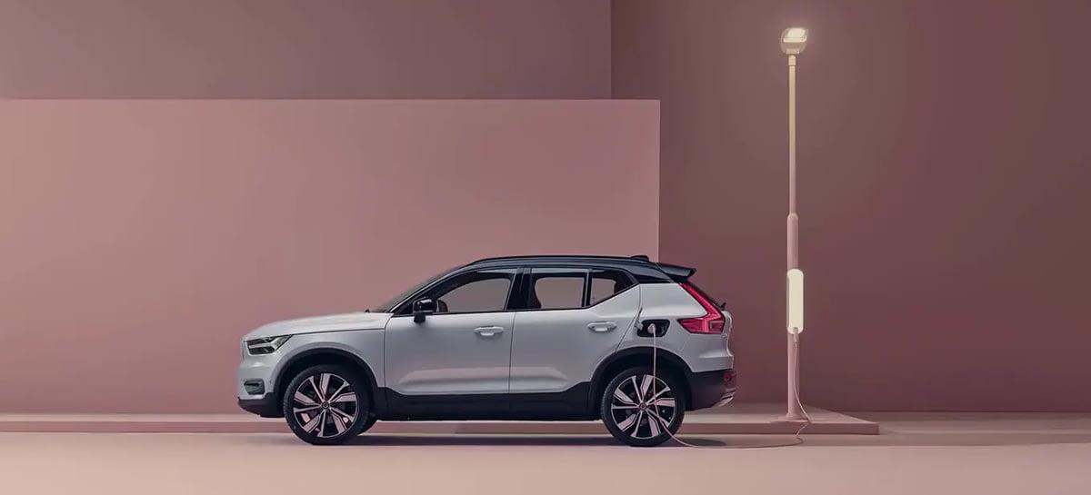 Volvo XC40 Pure Eletric, primeiro carro 100% elétrico da empresa, chega ao Brasil por R$ 389 mil