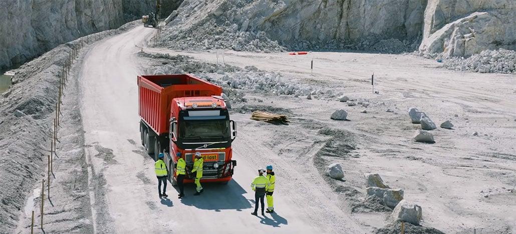 Começam testes com primeiros caminhões autônomos fabricados totalmente pela Volvo
