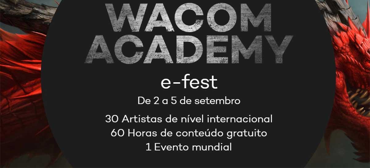 Começa hoje o Wacom Academy, festival online grátis com artistas digitais