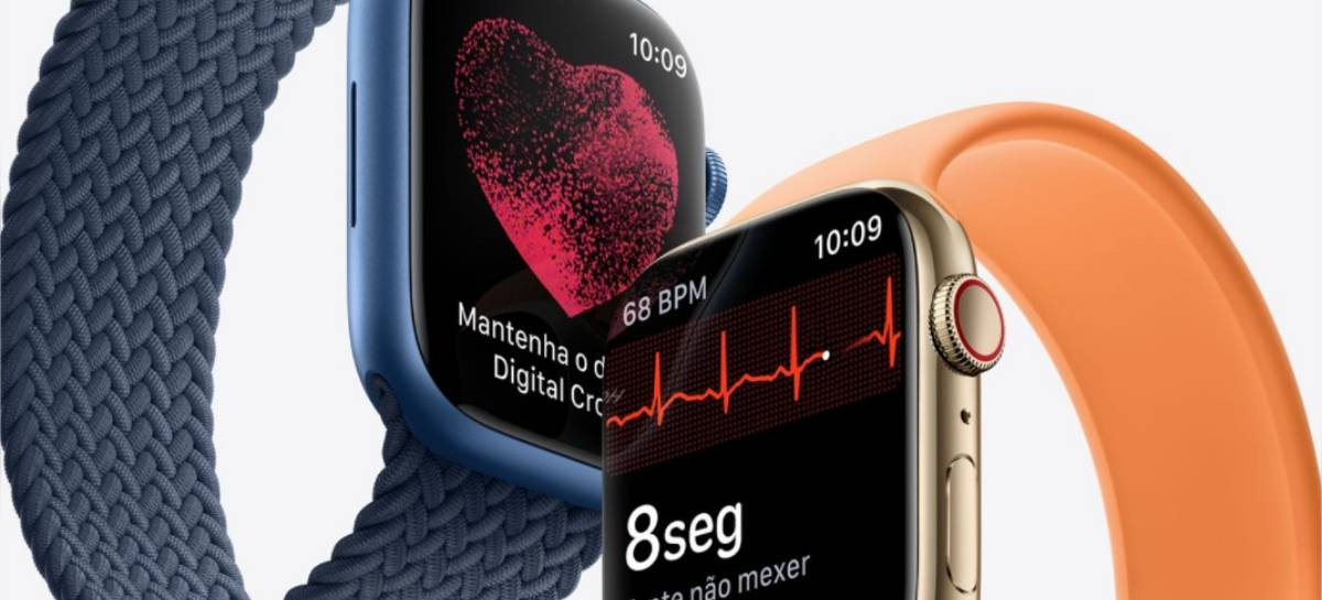 Apple Watch Series 7: novo visual, display maior e mais resistência a partir de US$ 399