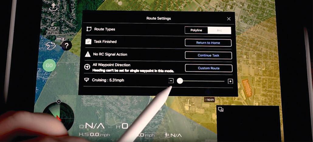Atualização do app DJI Go 4 traz nova versão de waypoints para os drones Mavic 2