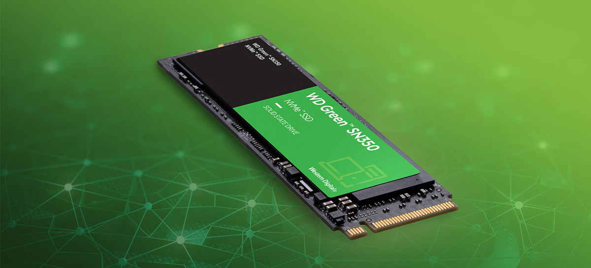 Western Digital lança SSD PCIe 3.0 WD Green SN350 com até 960GB