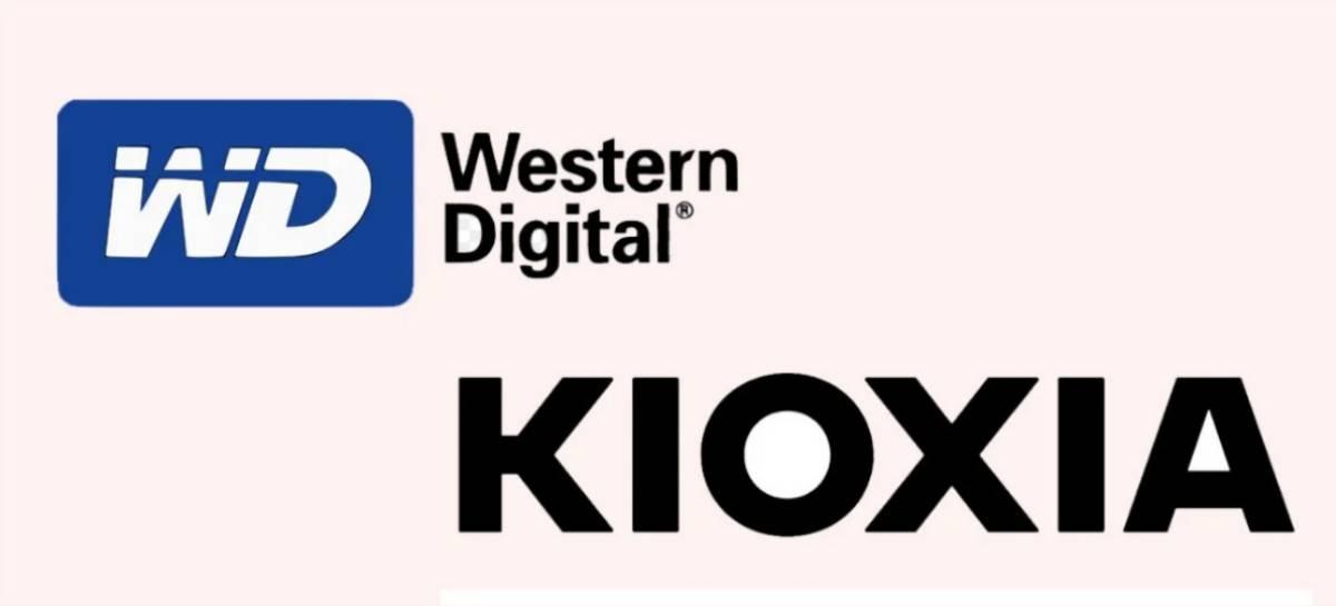 Western Digital abre negociações para comprar a Kioxia
